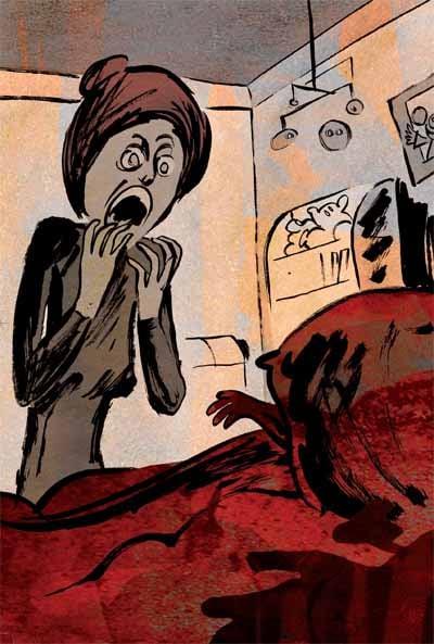 Illustration Yvang pour le Théâtre incomplet 3