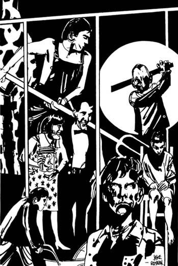Illustration Jacques Raynal pour le Théâtre incomplet 1